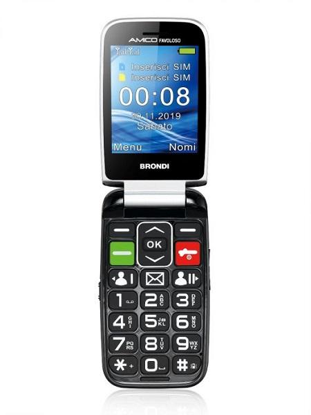 Brondi Quadri Band - Dual Mode UMTS/GSM - Amico Favoloso Nero