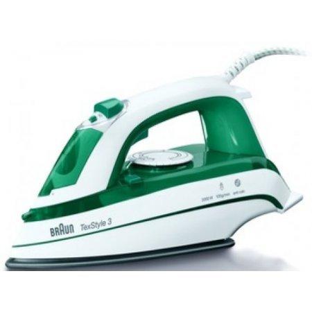 Braun Ferro a vapore 2000 w - Ts345  Bianco-verde