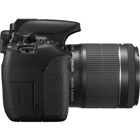 Canon Fotocamera reflex - Eos 700d + 18-55 Is Nero