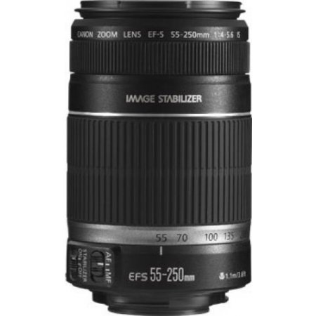 Canon - Ef-s 55-250 F/4-5.6 Is Stm 8546b005