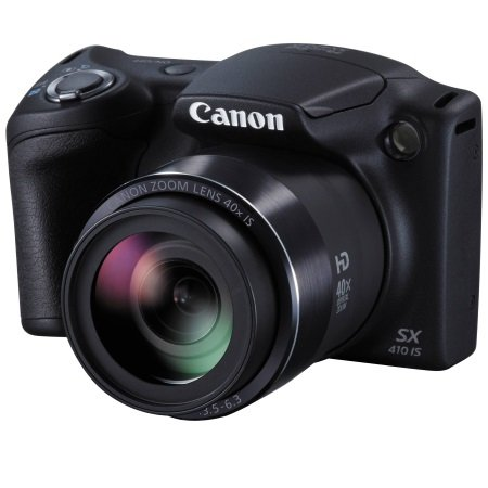 Canon - Powershot Sx410 Is Black