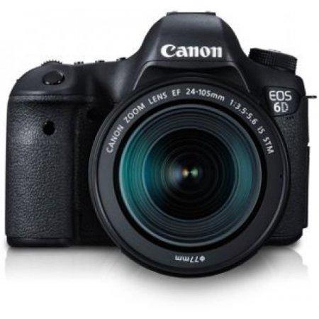 Canon Fotocamera reflex - Eos 6d + 24-105mm Nero