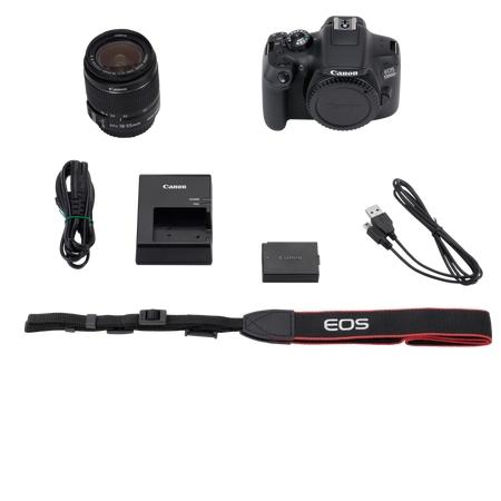 Canon Fotocamera Reflex - Eos 1300D +EF-S 18-55 IS II