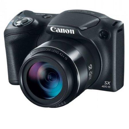 Canon Sensore 20 megapixel - Powershot Sx420 Black