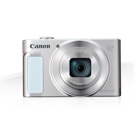 Canon Sensore CMOS da 20,2 megapixel - POWERSHOT SX620 HS WHITE