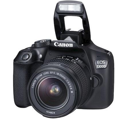 Canon Fotocamera Reflex - Eos 1300D +EF-S 18-55 DC III