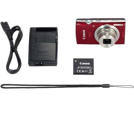 Canon Sensore da 20 Mpx - Ixus 185 Red