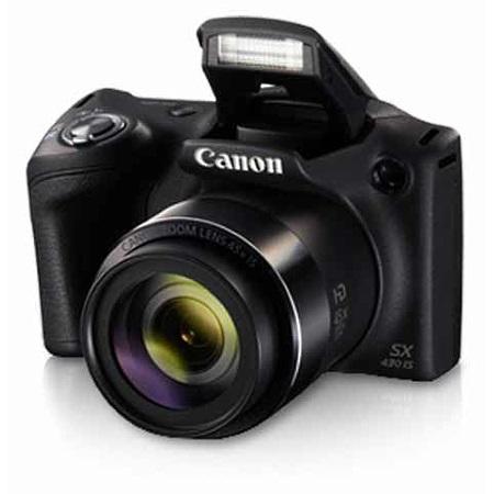 """Canon Sensore CCD 1/2.3"""" da 20,5 Mpx - Powershot Sx430 Is Nera"""