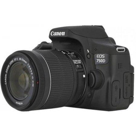 Canon Fotocamera Reflex + Obiettivo - Eos 750d + 18-55mm