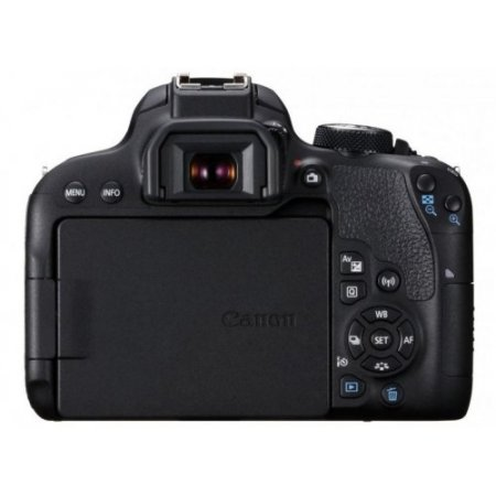 Canon Fotocamera reflex - Eos 800d + 18-55mm Stm Is Nero