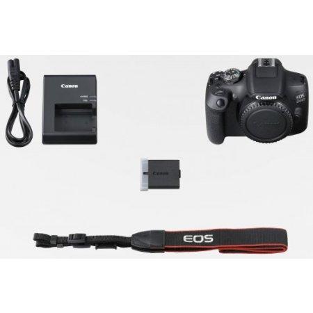 Canon Fotocamera reflex - Eos 2000d + Ef-s 18-55 Mm Is Ii Nero