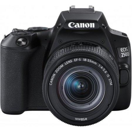 Canon - Eos 250d + 18-55is 3454c002aa Nero