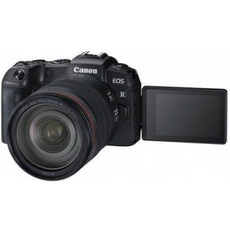 Canon Fotocamera mirrorless - Eos Rp + Rf 24-105 F/4 L Is Usm+m.adapt. Ef-eos R Nero