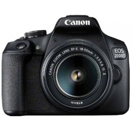 Canon - Eos 2000 Kit Nero