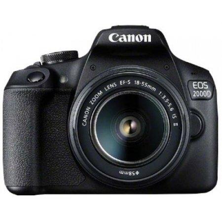 Canon Eos 2000d Kit Nero Fotocamera reflex