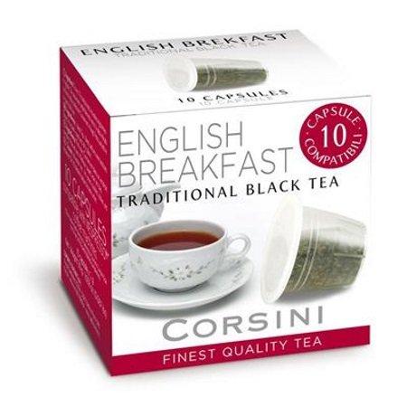 Caffe'Corsini - Confezione 10 capsule Tè Nero tradizionale - Dcc082