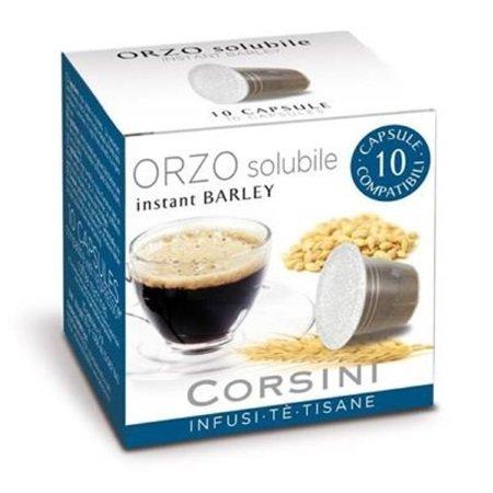 Caffe'Corsini Confezione da 10 capsule - Confezione 10 capsule Orzo Solubile - Dcc170