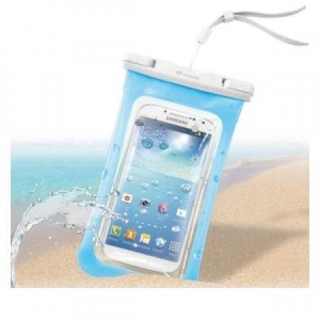 CELLULAR LINE Custodia impermeabile per smartphone - VOYAGER BLUE