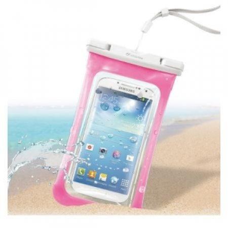 CELLULAR LINE Custodia impermeabile per smartphone - VOYAGER PINK