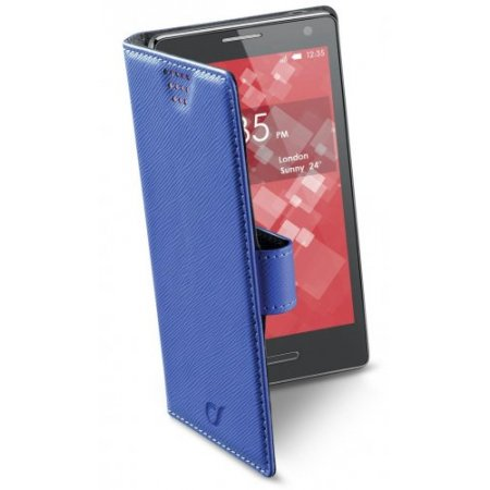 "Cellular Line Custodia smartphone fino 5.4 "" - Bookuni3 Xxxl Bookuni3 Blu"