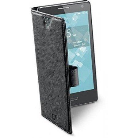 """Cellular Line Custodia smartphone fino 5.4 """" - Bookuni3 Xxxl Bookuni3 Nero"""