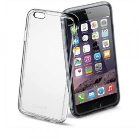 CELLULAR LINE Custodia completamente trasparente per iPhone 6 Plus - CUSTODIA CLEAR DUO IPHONE 6 PLUS