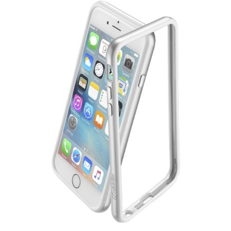 Cellular Line - Bumper Satin iPhone 6 Argento