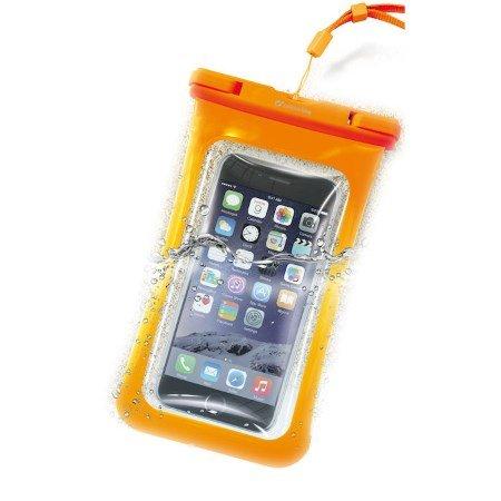 Cellular Line Custodia universale per Smartphone - Voyager15o Arancio