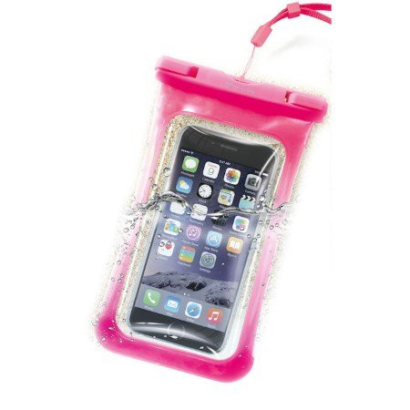 Cellular Line Custodia universale per Smartphone - Voyager15p Rosa