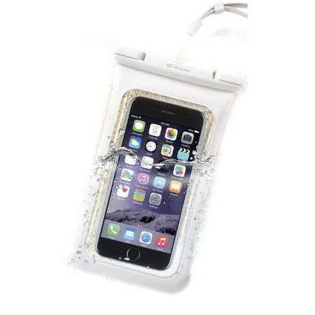 Cellular Line Custodia universale per Smartphone - Voyager15w Bianco