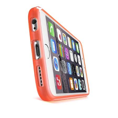 Cellular Line Cover per iPhone 6 - Custodia Rigida Clear Color iPhone 6 Rosa