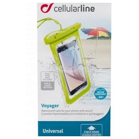 Cellular Line - Custodia Impermeabile Voyager16l Lime