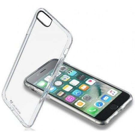"""Cellular Line Cover smartphone fino 4.7 """" - Clearduoiph747t"""