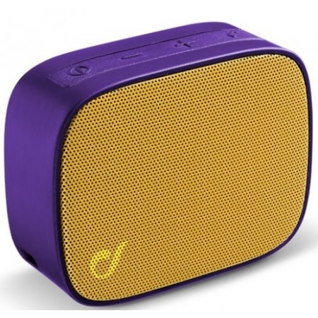 Cellular Line Speaker portatile 1 via - Btspkfizzy4 Viola-giallo