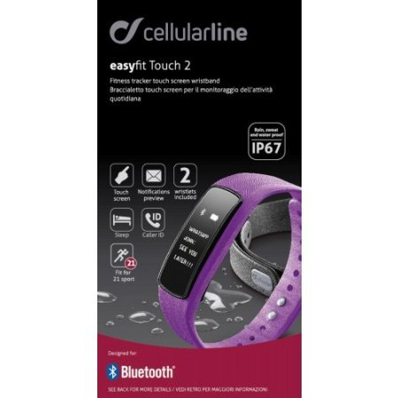 Cellular Line Activity tracker  - Bt Easy F Touch  Rosa