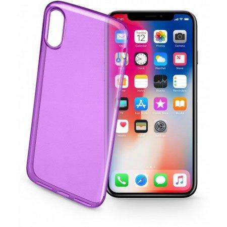 """Cellular Line Cover smartphone fino 5.8 """" - Colorciph8v Viola"""