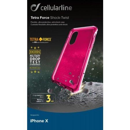 """Cellular Line Cover smartphone fino 5.8 """" - Tetracaseiph8f"""