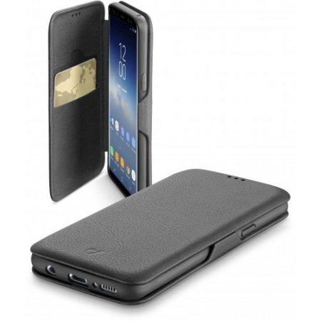 Cellular Line Custodia smartphone - Bookclutchgals9k Nero