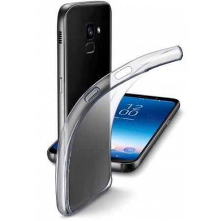 """Cellular Line Cover smartphone fino 5.6 """" - Finecgala818t Trasparente"""