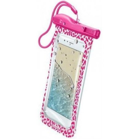 Cellular Line Custodia smartphone - Voyager18p Rosa