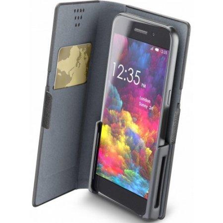 "Cellular Line Custodia smartphone fino 4.8 "" - Slideclick2xk Nero"