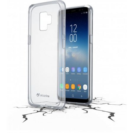 """Cellular Line Custodia smartphone fino 5.8 """" - Clearduogals9t Trasparente"""