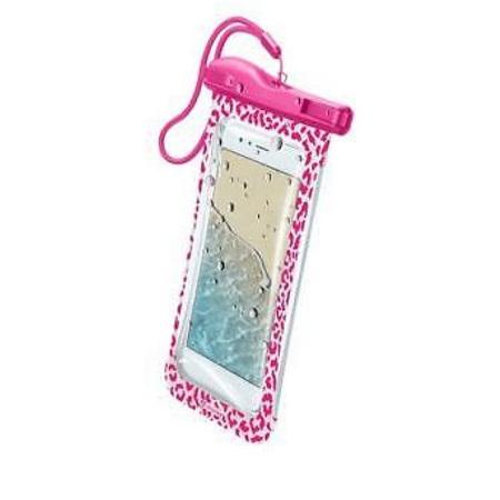 "Cellular Line Custodia smartphone fino 6.3 "" - Voyagerpochet18p Rosa"