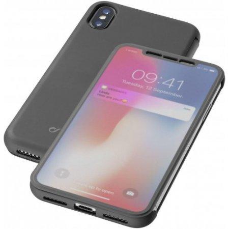 """Cellular Line Custodia smartphone fino 5.8 """" - Booktouchiph8xk Nero"""
