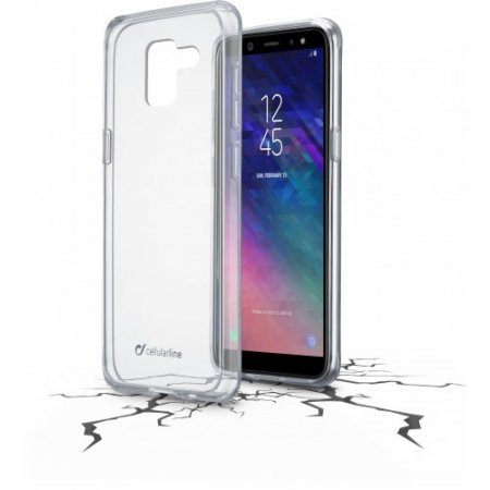 "Cellular Line Cover smartphone fino 5.6 "" - Clearduogala618t Trasparente"