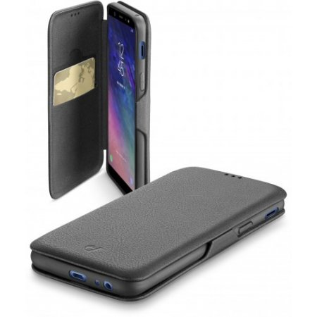 Cellular Line Custodia smartphone - Bookclugala6pl18k Nero