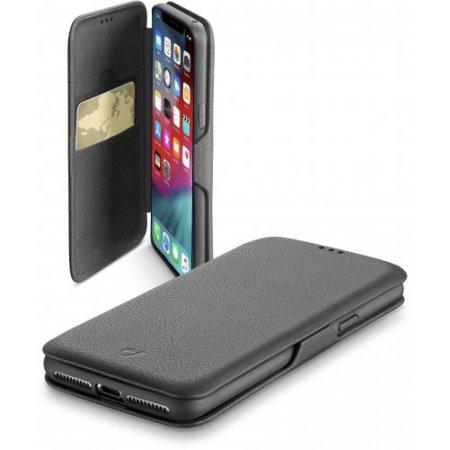 """Cellular Line Custodia smartphone fino 6.5 """" - Bookclutchiphx65k Nero"""