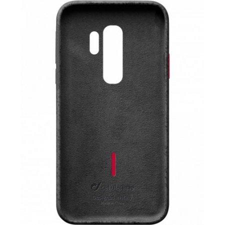 """Cellular Line Cover smartphone fino 6.2 """" - Mineralgals9plk Nero"""