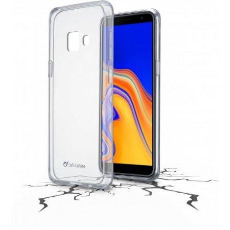 "Cellular Line Cover smartphone fino 6 "" - Clearduogalj4pl18 Trasparente"