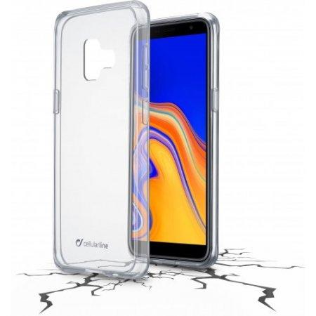 "Cellular Line Cover smartphone fino 6 "" - Clearduogalj6pl18t Trasparente"